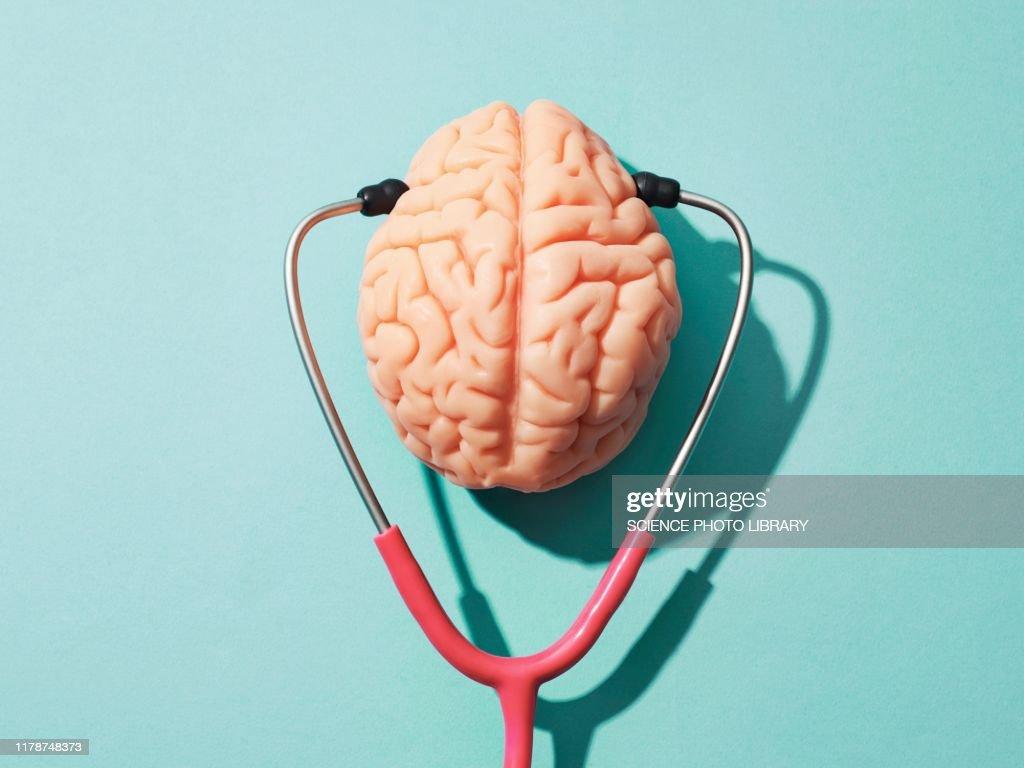 Mental health, conceptual image : Stock Photo