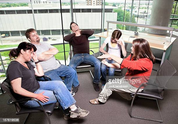 Mental Health Family therapy counseling session time out