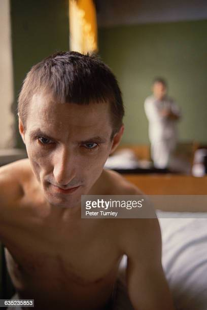Mental Patient at a Psychiatric Hospital