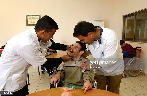 Mentally disabled autistic and physically handicapped Palestinians and others who have no family or have been abandoned find protection and receive...