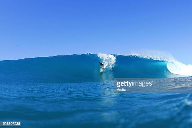 surfing lifestyle Outdoor boardsports to surf to go surfing surfer Surfing plank or board board water wave ocean blue fat enormous huge amazing