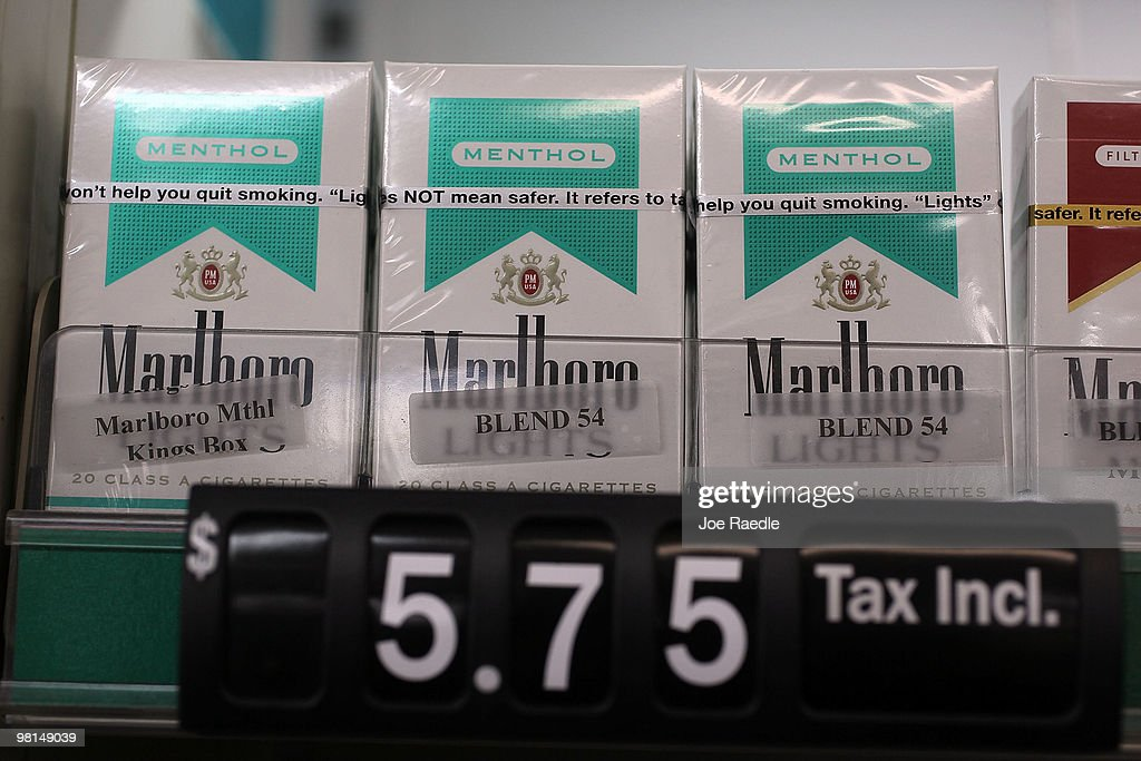 FDA Examines Menthol Cigarettes, With Possible Ban In Sight : News Photo