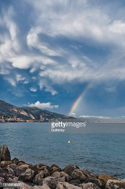 menton - alpes maritimes stock pictures, royalty-free photos & images