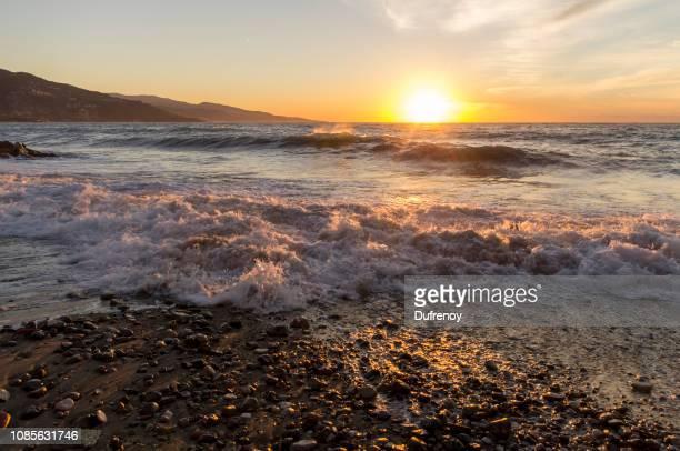 Menton, sunrise