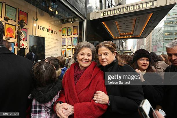 Mentoring USA Founder Matilda Cuomo and Bloomingdale's SVP Public Relations Anne Keating attend Bloomingdale's 59th St and Mentoring USA's...