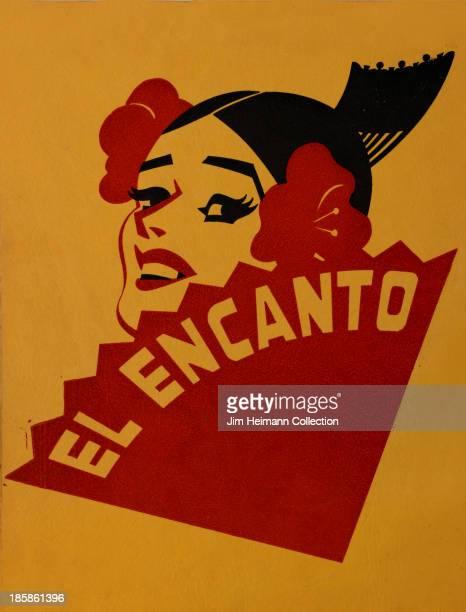 A menu for El Encanto reads 'El Encanto' from USA