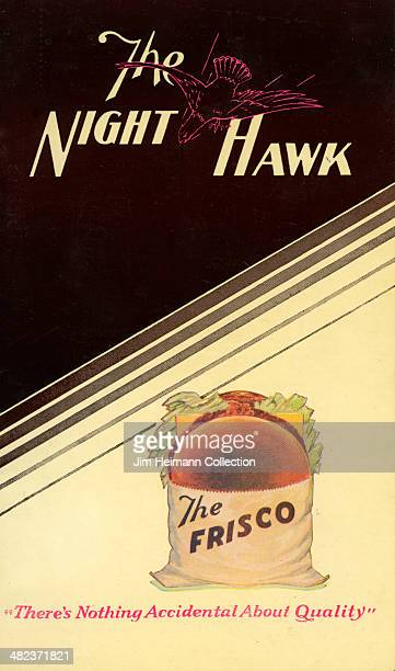 A menu for The Night Hawk reads 'The Night Hawk' from 1950 in USA