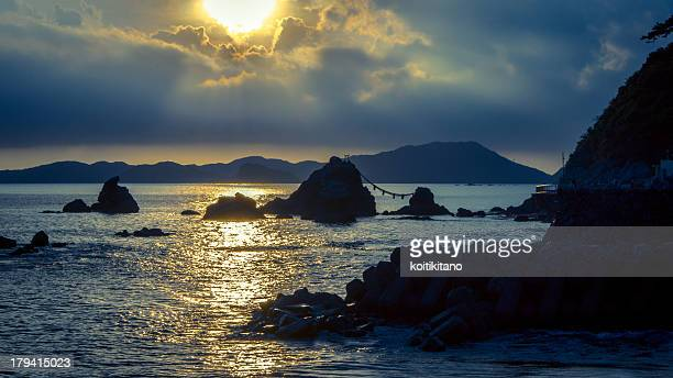 meoto iwa - ise mie stock pictures, royalty-free photos & images