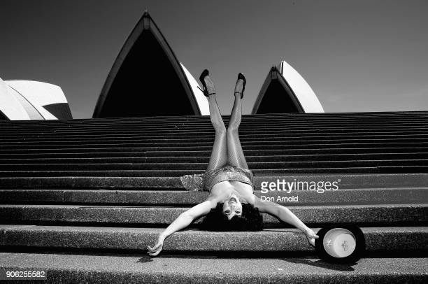 Meow Meow poses during a media call for Meow Meow's Pandemonium Sydney Festival Show at Sydney Opera House on January 18 2018 in Sydney Australia