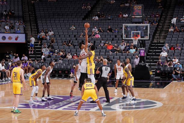 CA: 2021 California Classic Summer League: Los Angeles Lakers v Miami Heat