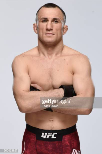 Merab Dvalishvili poses for a portrait during a UFC photo session on February 12 2020 in Rio Rancho New Mexico