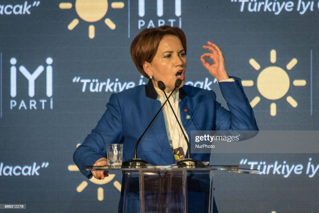Meral Akener launches new nationalist IYI Party in Ankara : Nieuwsfoto's