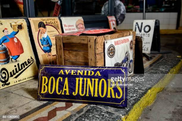 mercado de san telmo, buenos aires, argentina - cultura argentina imagens e fotografias de stock