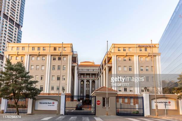 mercantile bank in sandton city, johannesburg - sandton stock pictures, royalty-free photos & images
