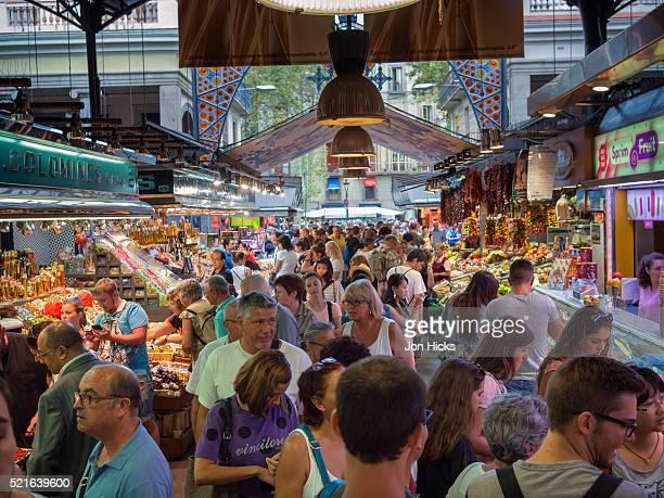 Mercat de la Boqueria, Barcelona.