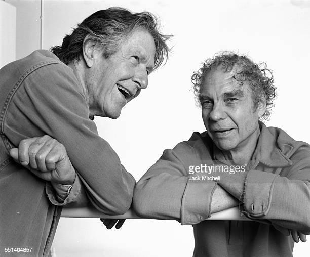 Merce Cunningham and John Cage September 1986