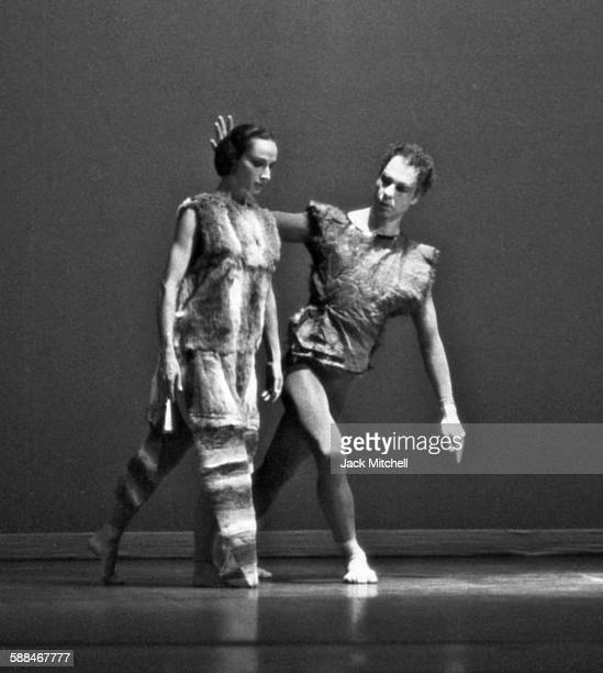 Merce Cunningham Company performing in New London, Connecticut in 1963.