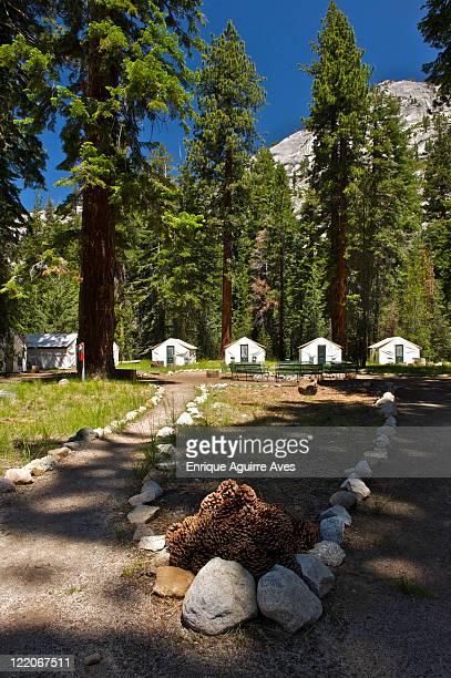merced lake, high sierra camp, yosemite, california, usa - マーセド郡 ストックフォトと画像