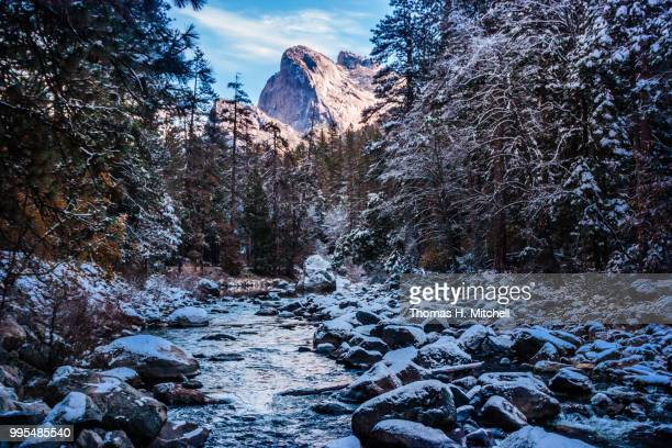 merced river - brook mitchell stock pictures, royalty-free photos & images