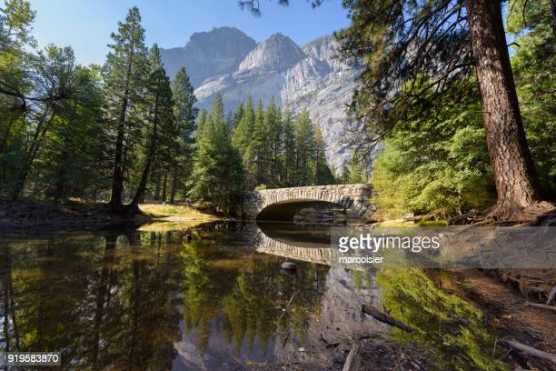 merced river, yosemite national park, california, america, usa - yosemite valley stock photos and pictures