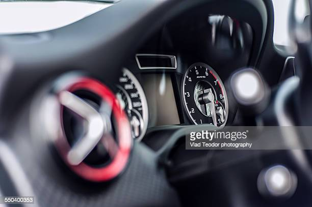 Mercedes A 45 AMG dashboard