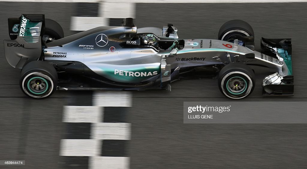 AUTO-F1-ESP-TEST-MERCEDES : News Photo