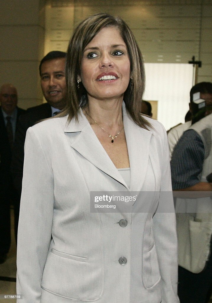 New Peruvian Finance Minister Mercedes Araoz Attends Ceremony A