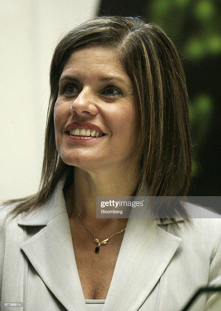 New Peruvian Finance Minister Mercedes Araoz Attends Ceremony A