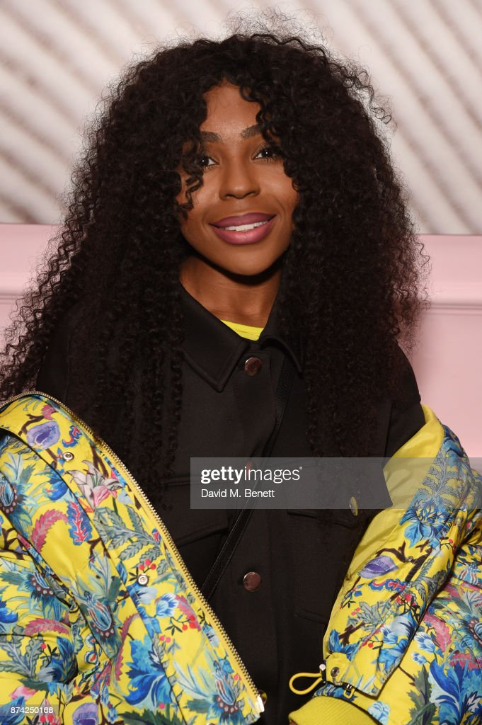 Mercedes Benson attends the Glossier Studio pop-up launch party at 32 Portland Place on November 14, 2017 in London, England.