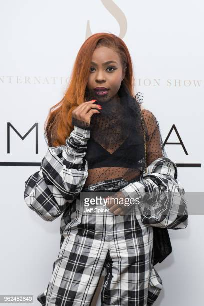 Mercedes Benson attends the inaugural International Fashion Show at Rosewood Hotel on May 25 2018 in London England