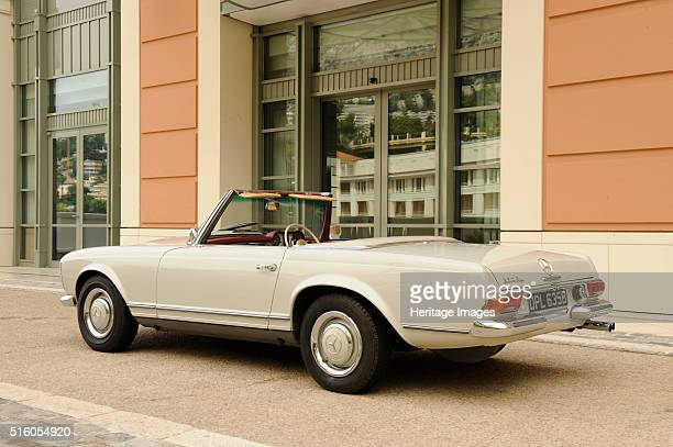 Mercedes Benz 230SL 1963 By Simon Clay
