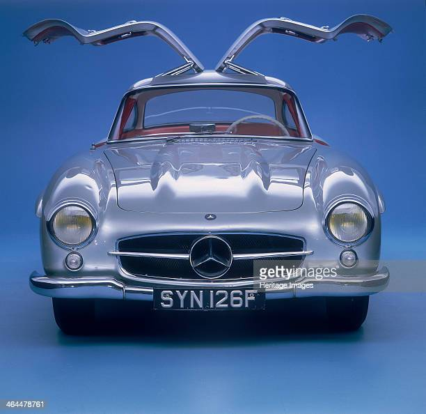 Mercedes Benz 300 SL Gullwing Mercedes introduced the 300SL its most famous and dramatic postwar model in 1954 It was a road version of a successful...