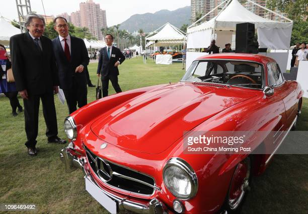 Mercedes Benz 300SL Gullwing on display at the opening Ceremony of Hong Kong's Premier Motor Celebration at Golden Coast Yacht and Country Club in...