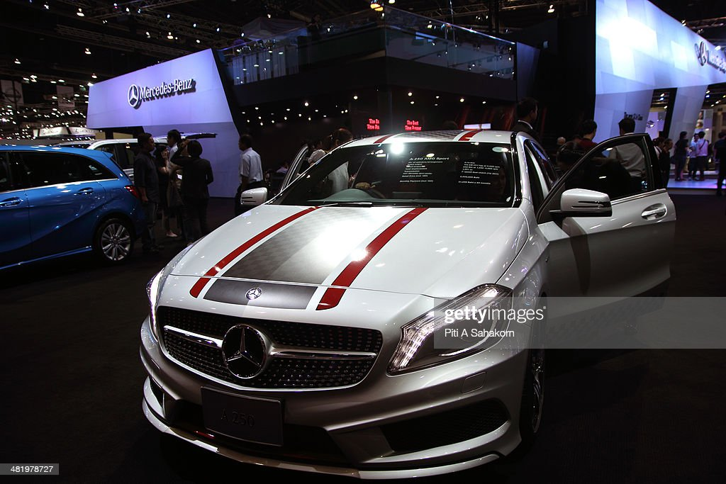 The Th Bangkok International Motor Show Photos And Images Getty - Car show display accessories