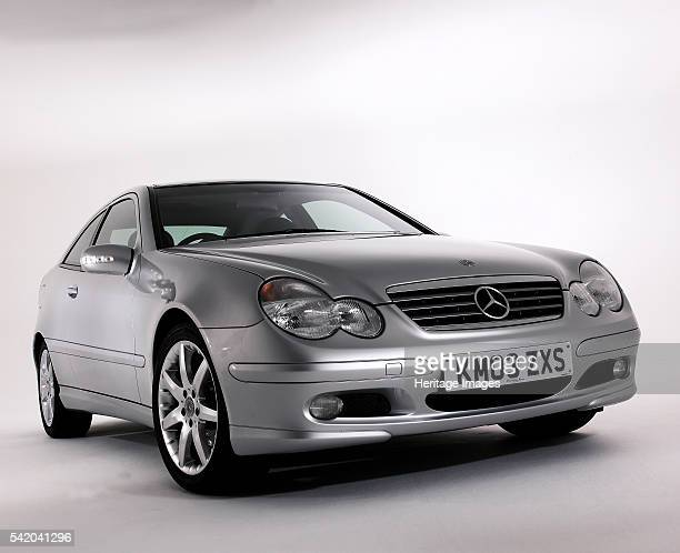 Mercedes Benz C200k Coupe.