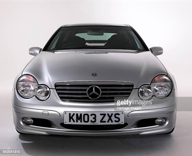 Mercedes Benz C200k Coupe.