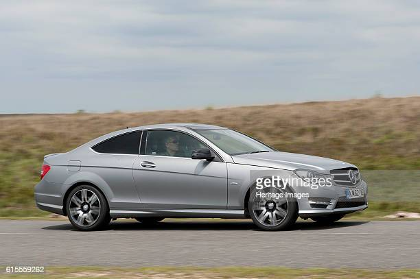 Mercedes Benz C250 Cdi Coupe AMG Sport. Artist Unknown.