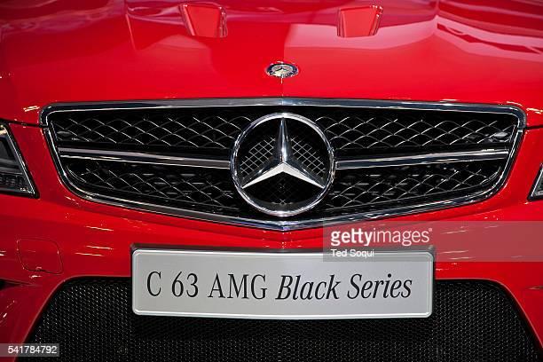 Mercedes Benz C63 AMG Black Series The 2011 LA Auto Show held at the LA Convention Center