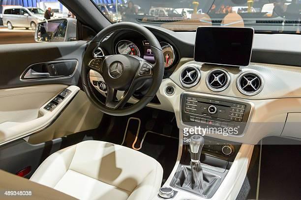 Mercedes Benz CLA Shooting Brake interior