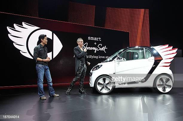 Smart Forjeremy Showcar By Jeremy Scott World Premiere Stock Photos