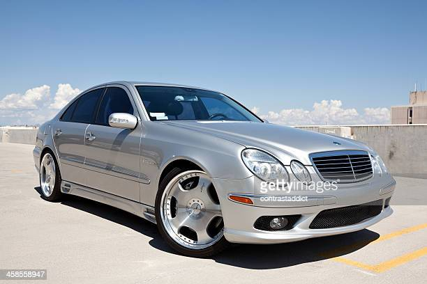 mercedes benz e 55 amg 2004 - mercedes benz stock pictures, royalty-free photos & images