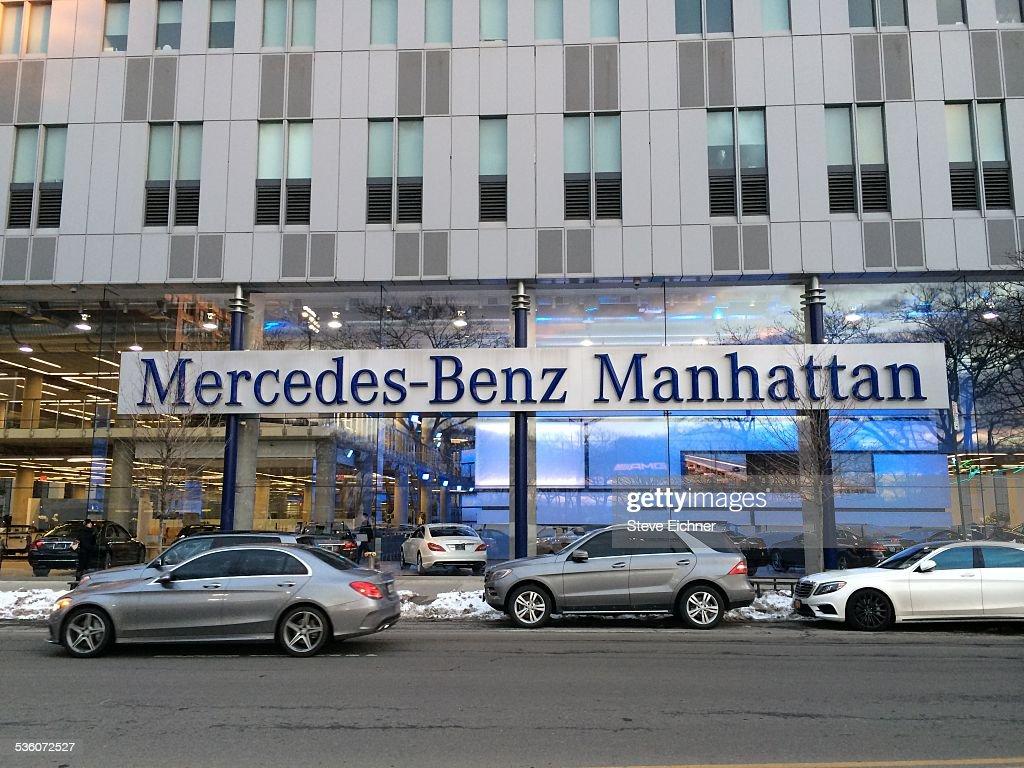 Mercedes Benz Manhattan New York USA