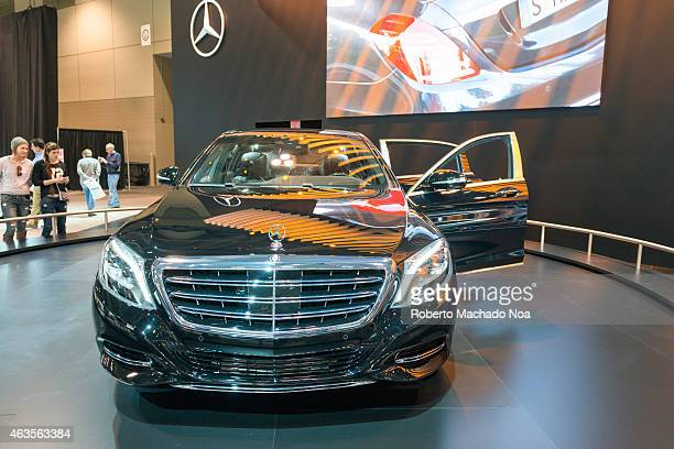 CENTRE TORONTO ONTARIO CANADA Mercedes Benz Maybach S600 in the Canadian International AutoShow CIAS for short is Canada's largest auto show and most...