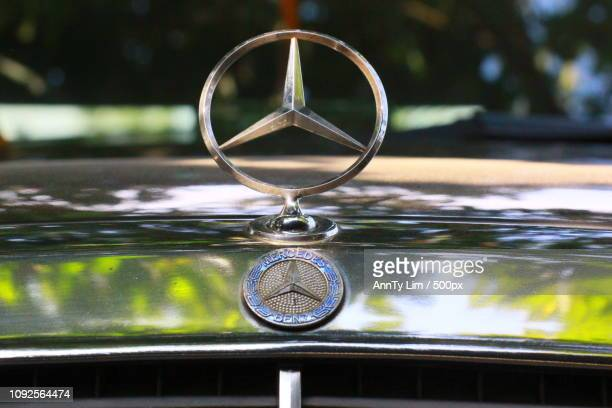 mercedes benz - hood ornament stock pictures, royalty-free photos & images