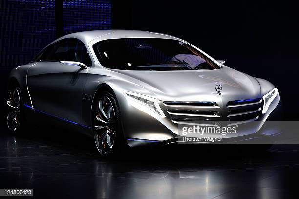 Mercedes Benz Presents The New Concept Car F125 During Press Days At Iaa Frankfurt