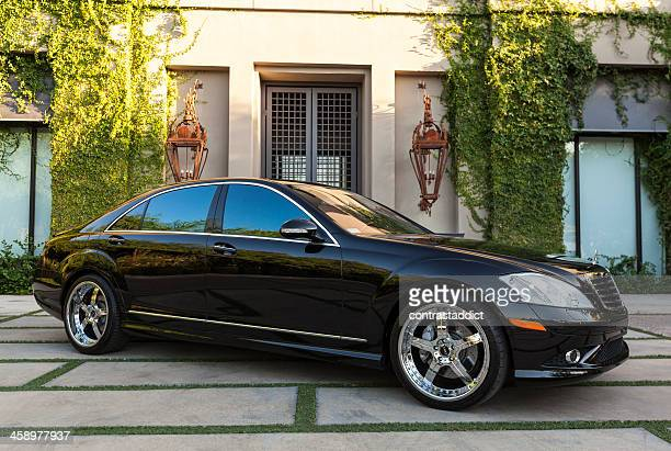 mercedes benz s500 - mercedes benz stock pictures, royalty-free photos & images