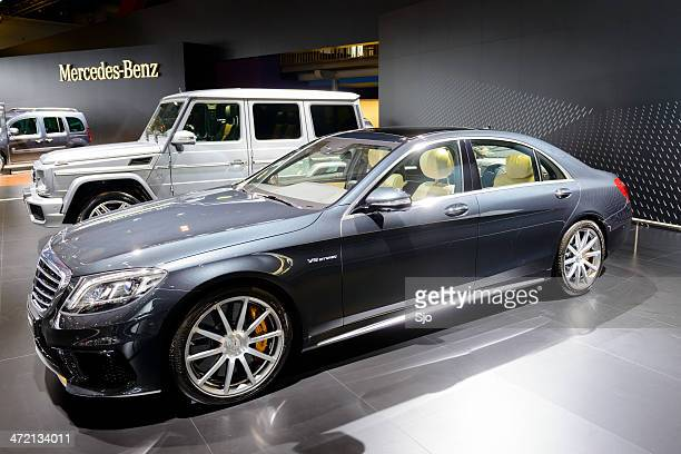 mercedes benz s-class amg - mercedes benz s class stock photos and pictures