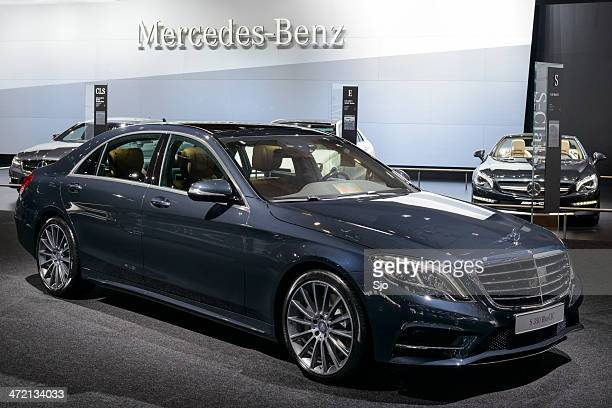 mercedes benz s-class - mercedes benz s class stock photos and pictures