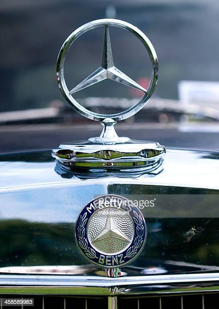 mercedes benz plata star - mercedes benz marca comercial fotografías e imágenes de stock
