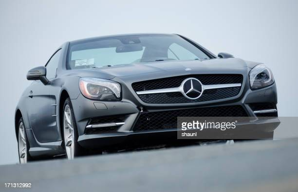 mercedes benz sl550 roadster - mercedes benz stock photos and pictures